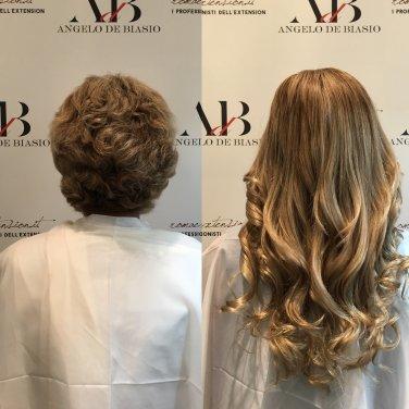 Extension capelli corti dopo chemio