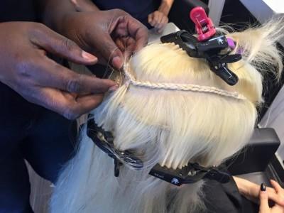 tessitura cucita extension roma