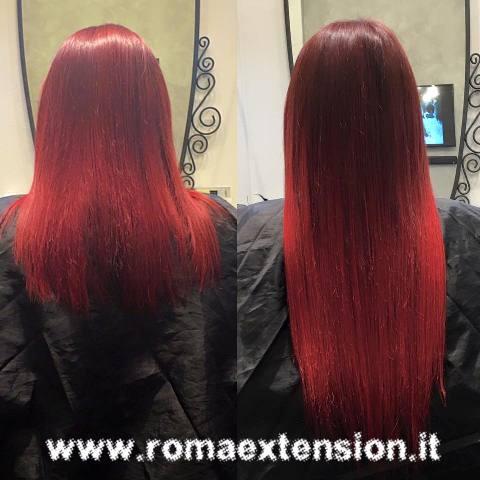 extension cheratina rosso ciliegia